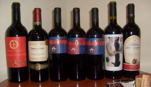 Scurta incursiune prin vinurile Olteniei (Degustare de grup)